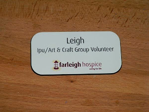 I SUPPORT FARLEIGH HOSPICE COULD YOU?