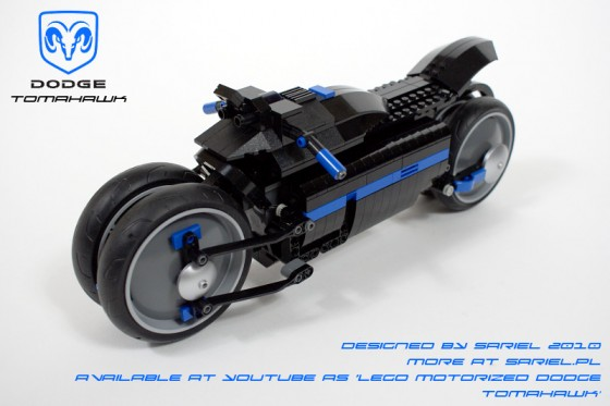 Beautiful Bikes Dodge Tomahawk Black