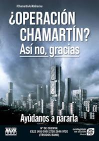 """""""Contigo paramos Chamartín"""": campaña de financiación colectiva"""