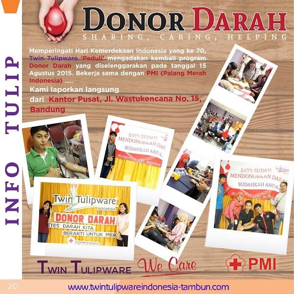 Info Tulip : Donor Darah 2015