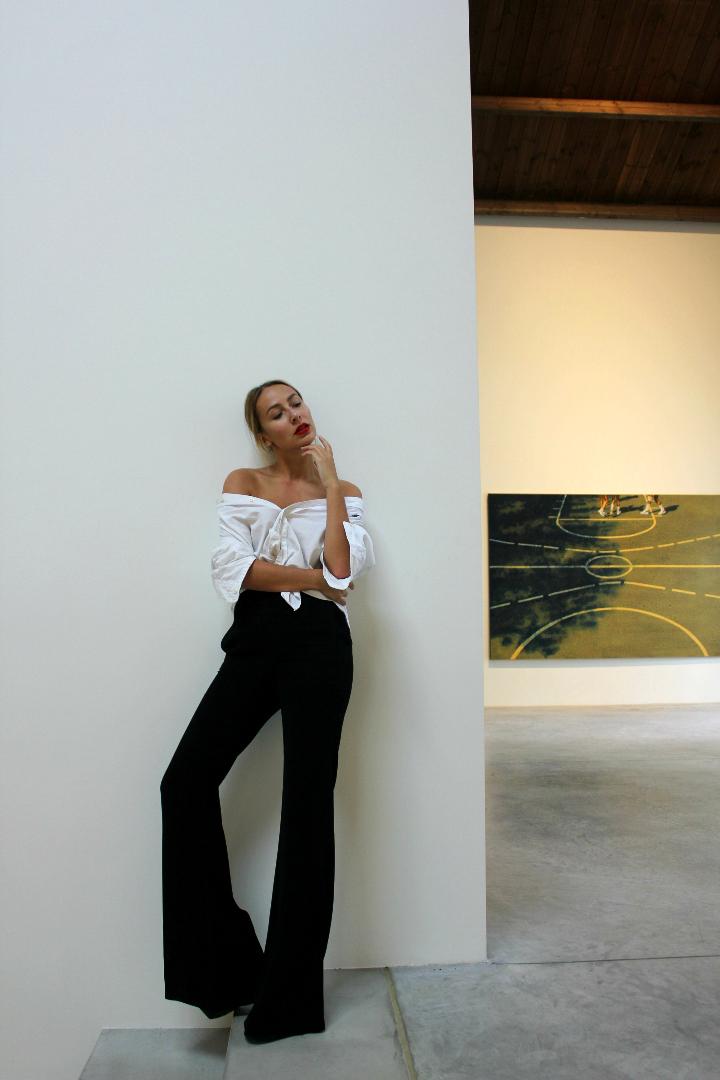 belgian fashion blog outfit white shirt