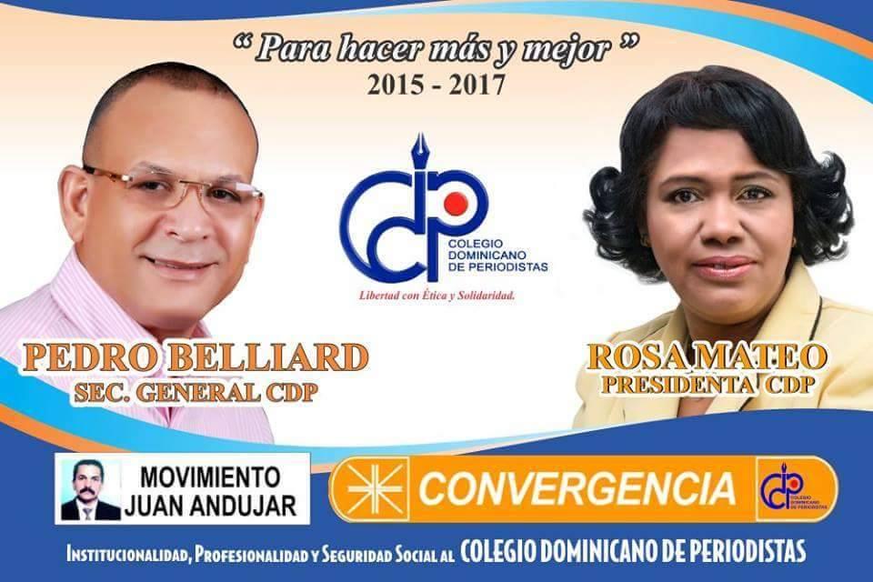 Pedro y Rosa al CDP