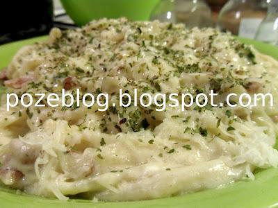 spaghete carbonara reteta