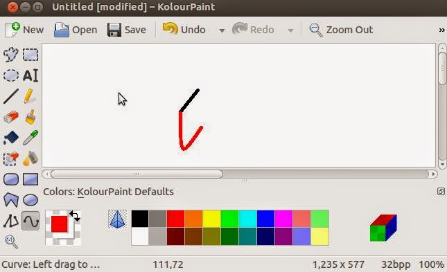 Graphic Editors In Ubuntu Linux Talk And Chats All About: paint for linux