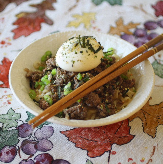 Savoury table food truck road trip cookbook review and giveaway food truck road trip cookbook review and giveaway loco moco mazemen beef ramen with miso gravy forumfinder Image collections