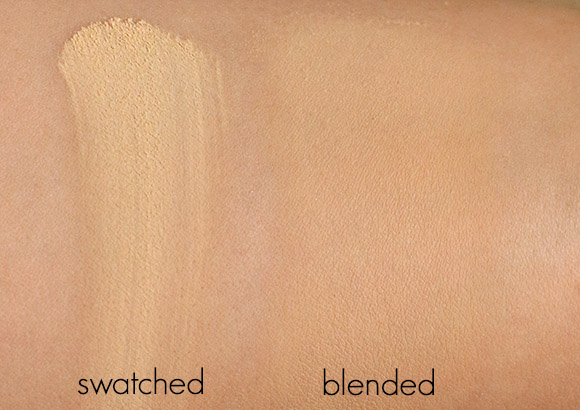 NARS Beach Loose Powder Swatches
