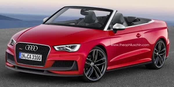 Audi RS3 Cabrio might come in 2015