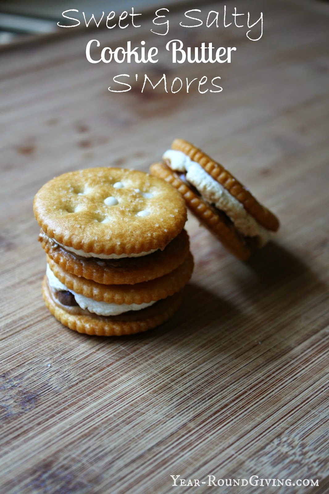 Sweet & Salty Cookie Butter S'mores