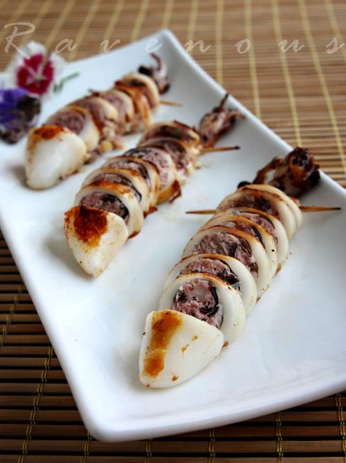 Muc Nhoi Thit - Stuffed Squid 5 | Vietnamese Recipes
