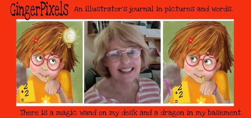 Ginger Nielson  ~ An Illustrator's Journal