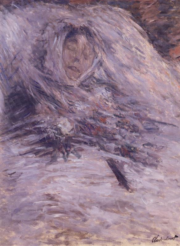 Claude Monet: Camille Monet på dødslejet