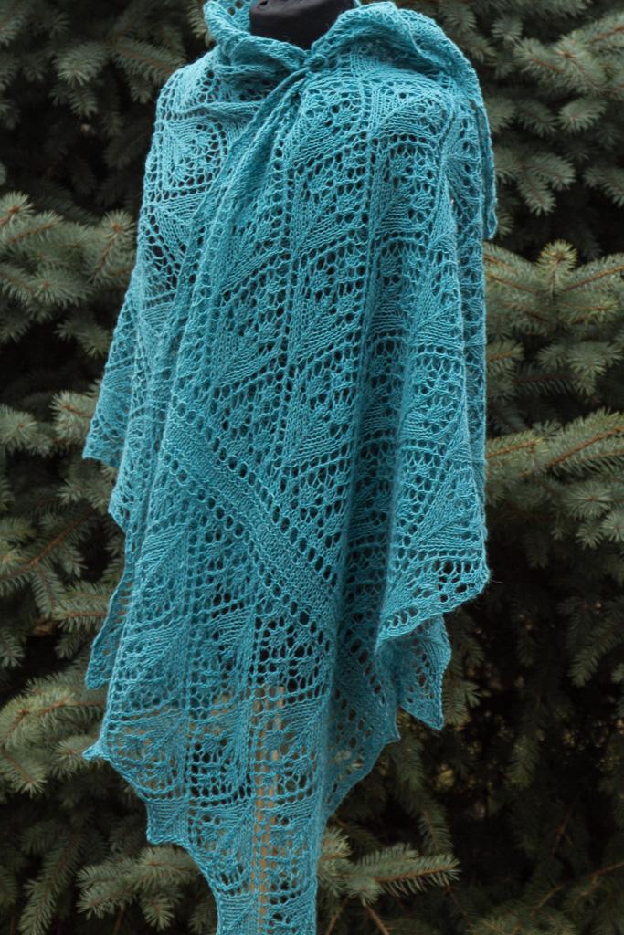 lace comfy shawl