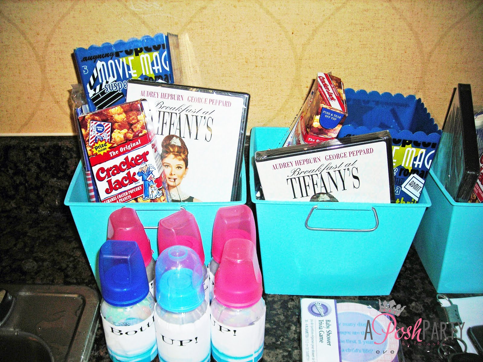 Prizes For The Baby Shower The Posh Pages Memphis Baby Shower Tiffanyu0027s  Inspired Baby Shower