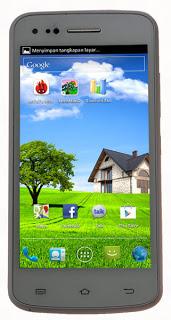 Spesifikasi Harga Cross A7S, Ponsel Android Dual Core