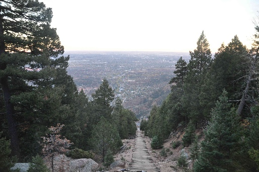 The Incline in Colorado Springs coloradoviews.blogspot.com