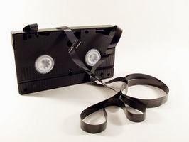 vieille cassette vidéo