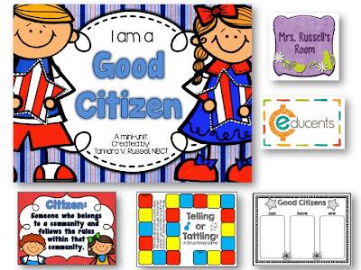 Good Citizenship Clipart This fun citizenship pack!
