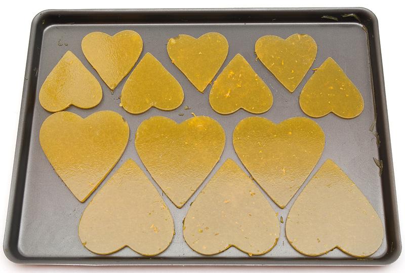 Valentinova jaffa tortica / Jaffa valentin cake orange agar agar