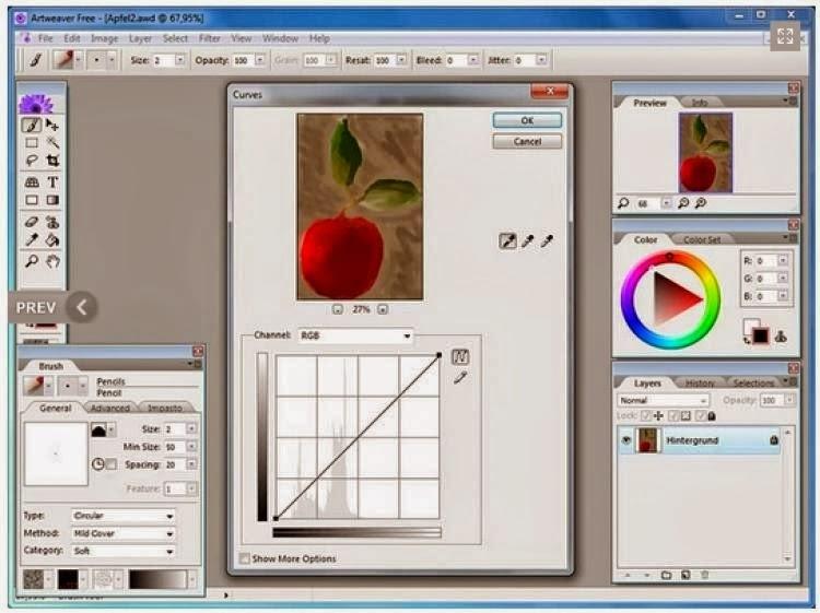 برنامج artweaver للرسم اخر اصدار