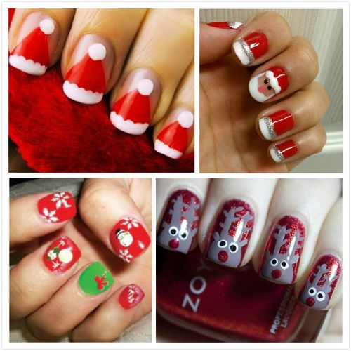 Easy Christmas Nail Art For Kids