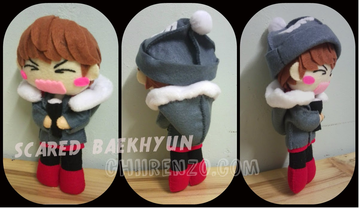 boneka baekhyun EXO