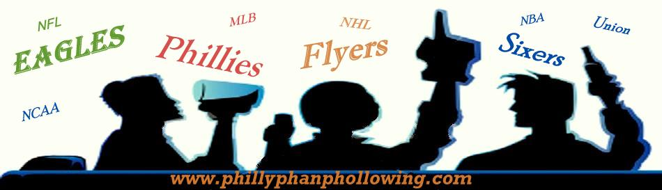 Philly Phan Phollowing Philly Sports