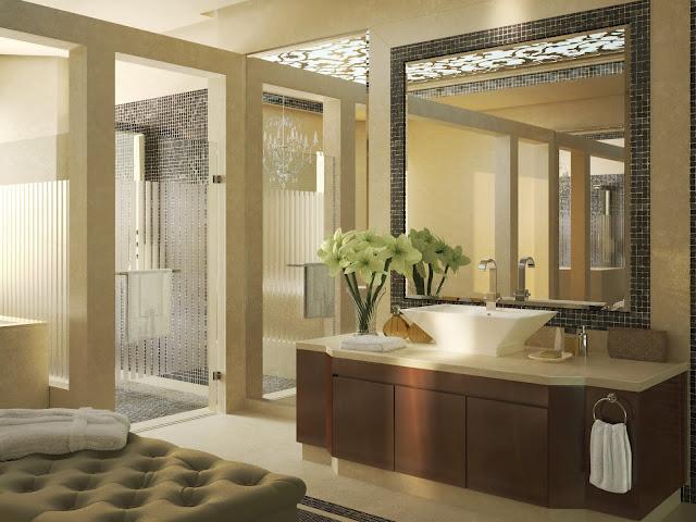 Bagno Beige E Marrone : Interiors rivestimento bagno e cucina marazzi bagno beige e