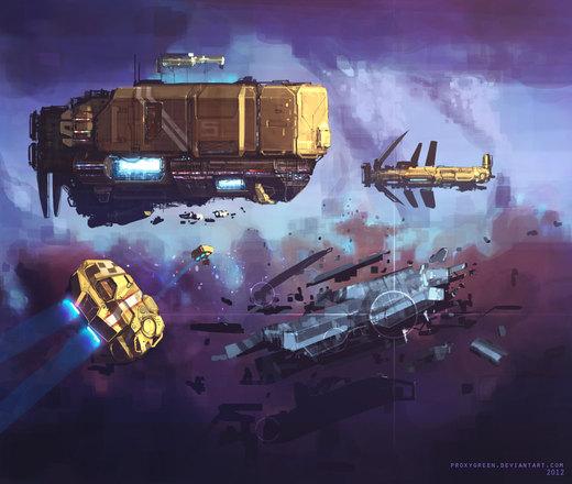 Space opera por ProxyGreen