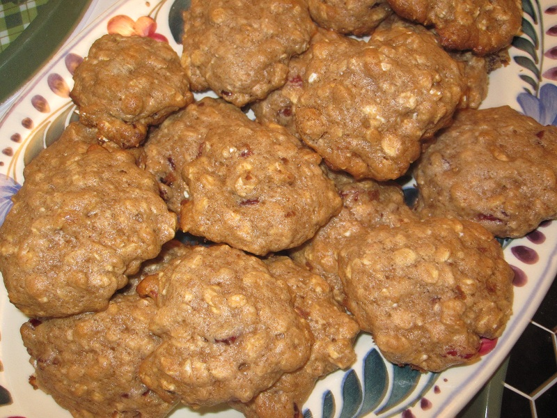 SNAP THAT: Low-Fat Cranberry Oatmeal Cookies