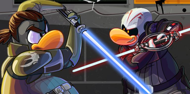 Club Penguin Star Wars Rebels Party 2015 Cheats