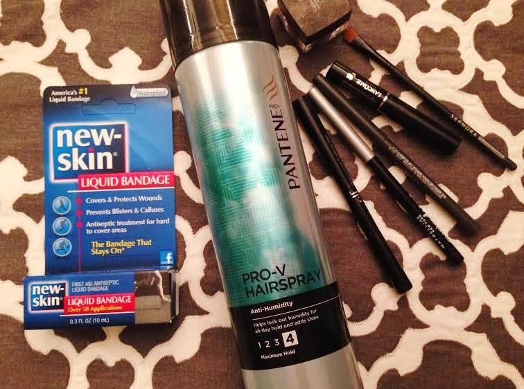 Decorella temporary tattoos two ways for Fake tattoo hairspray