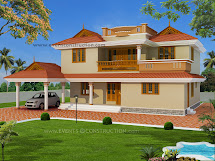 Kerala Model House Elevation Joy Studio Design