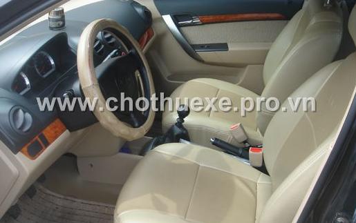 Cho thuê xe 4 chỗ Daewoo Gentra đời mới