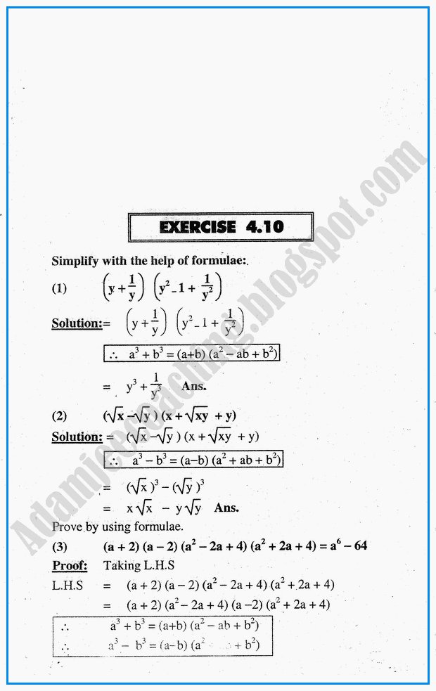 exercise-4-10-algebraic-expressions-mathematics-notes-for-class-10th