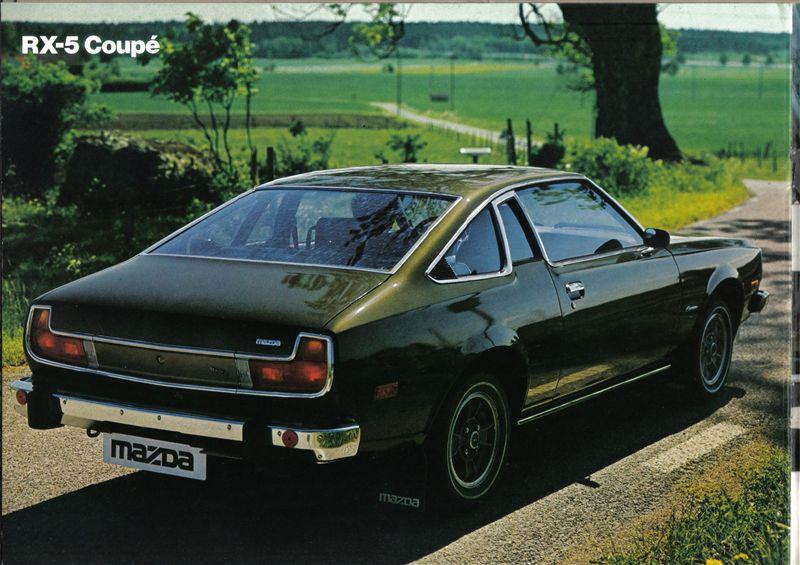 Mazda Cosmo AP, kultowe auto, ciekawy design, RX-5