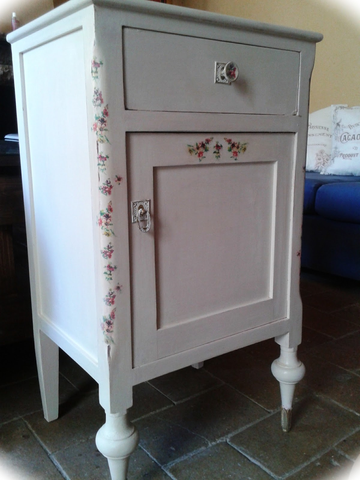 Decoupage transfer y otras t cnicas restauraci n de for Blog restauracion muebles