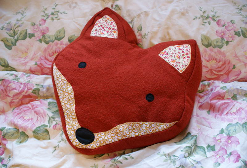 Fox Cushion from Flamingo Gifts