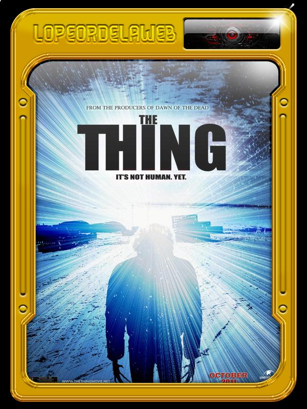 The Thing (La Cosa) (2011) [BrRip-720p-Dual-Mega]