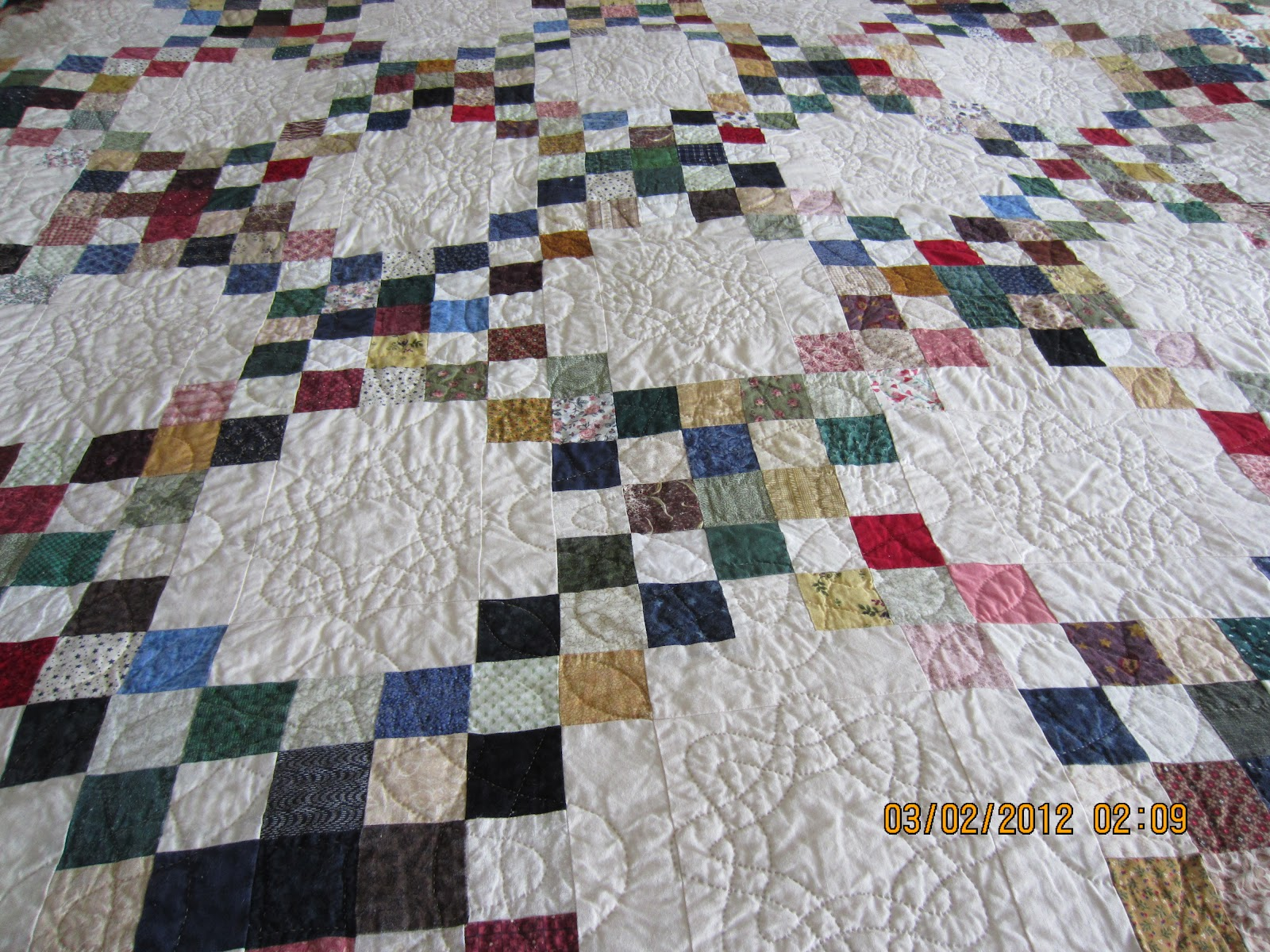 Quilt Pattern For Double Irish Chain : A Few of My Favorite Things: Double Irish Chain