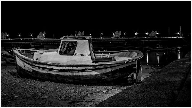 Manuela y Cia: La barca Manuela en el Puerto de Santa María