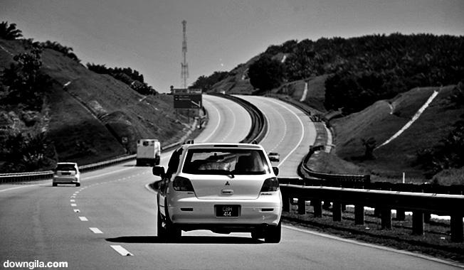 Lebuhraya karak highway karak berhantu PLUS hari raya