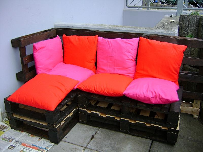 Paletten Lounge Bauen terrassen und balkonbepflanzung eine lounge aus paletten für die