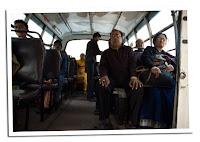interior autobus indio