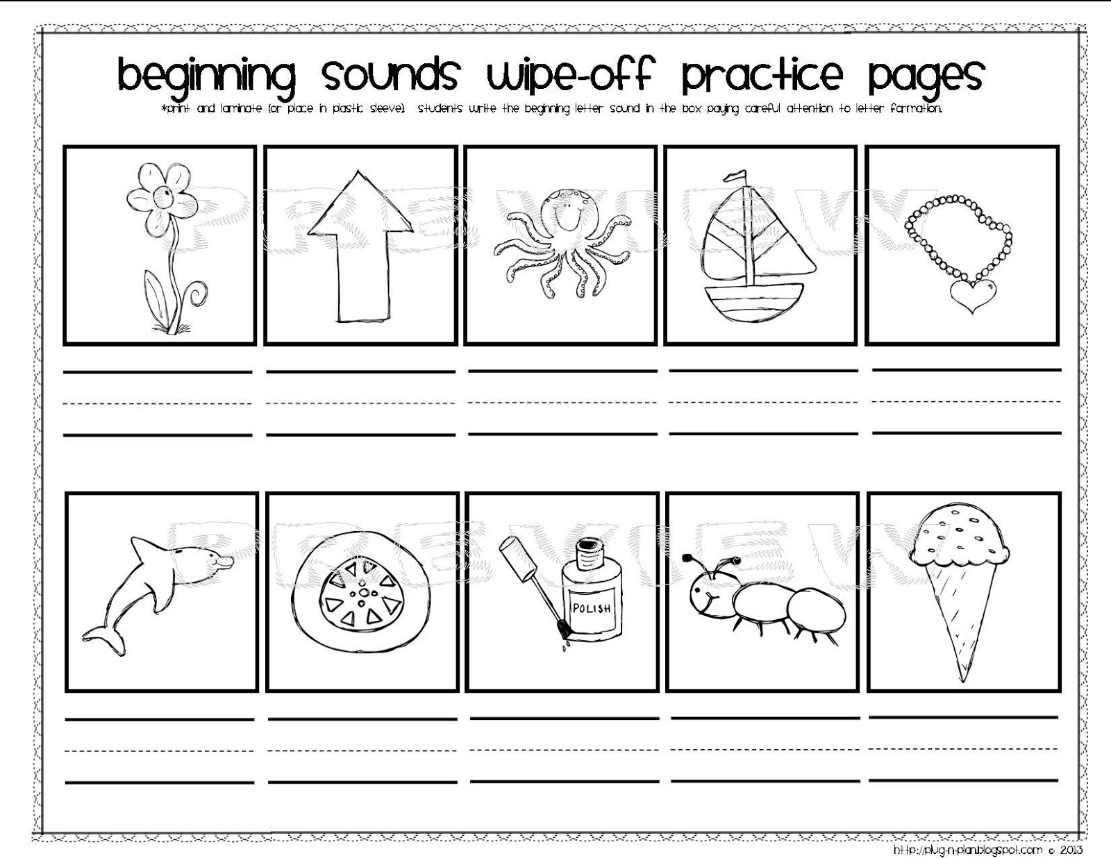 Worksheet Beginning Sounds beginning sounds lessons tes teach