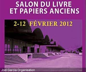 Le petit c linien salon du livre ancien et des vieux papiers du 2 au 12 f vrier 2012 paris - Salon du livre de saint louis ...