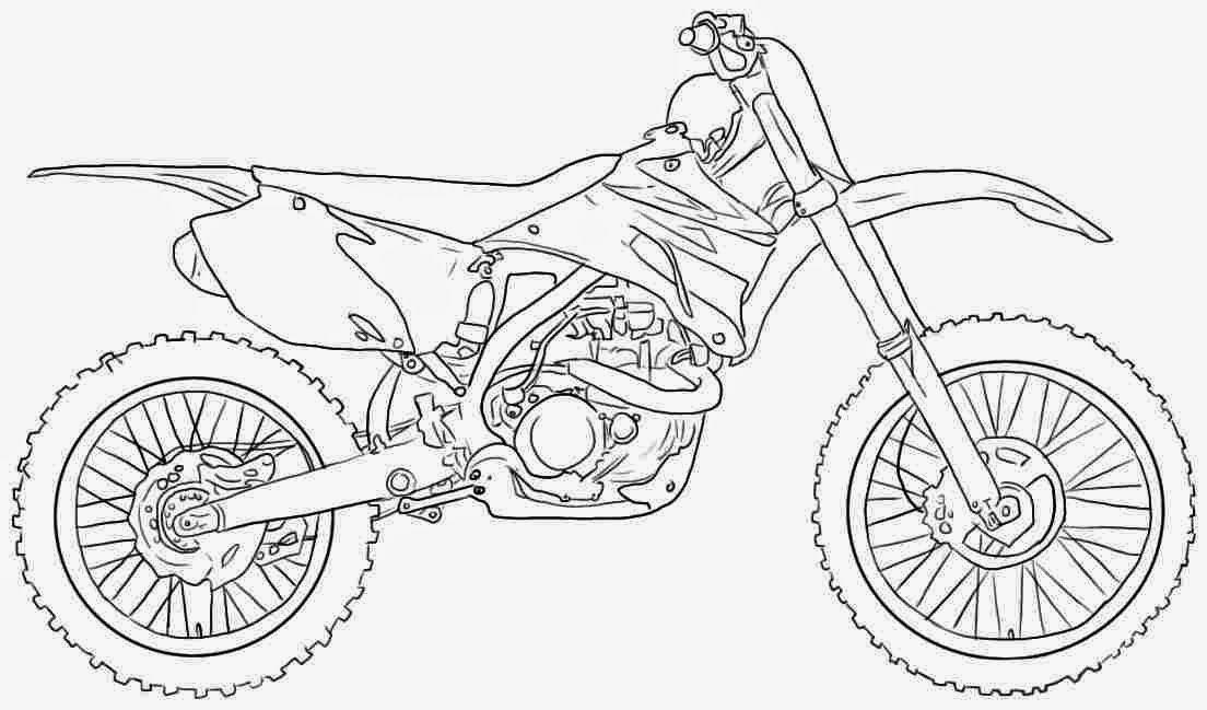 Freestyle Motocross Coloring Pages Coloring Pages