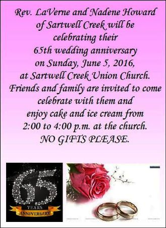 6-5 65th Wedding Anniversary