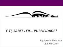 OBRADOIRO DESTINADO Á LECTURA CRÍTICA DE PUBLICIDADE
