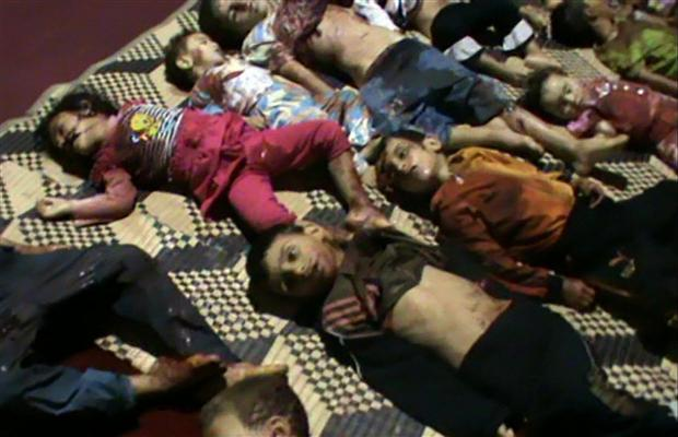dead babies in syria