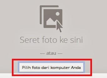 pilih foto anda dari komputer